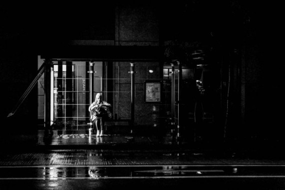 Bus-stop-wet-day-shes-there-I-say-Chicago-2013-Copy